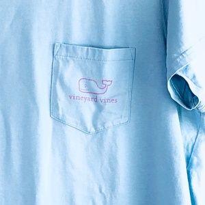 Vineyard Vines Tops - VINEYARD VINES Vintage Whale Pocket Tee #P15